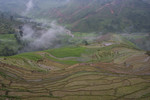 Watershed and paddy rice terraces in Timur Sein village