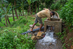 Cleaning the channel of Timur Sein multipurpose irrigation project