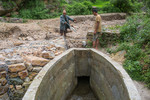 Water condition of Timur Sein multipurpose irrigation project