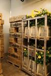 Cooling room at AQ Roses PLC farm