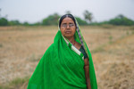 Portrait of a woman farmer