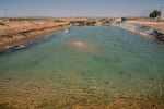 Water Pond -  HRH Prince Ghazi's farming initiative