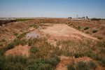 Dry water Pond -  HRH Prince Ghazi's farming initiative